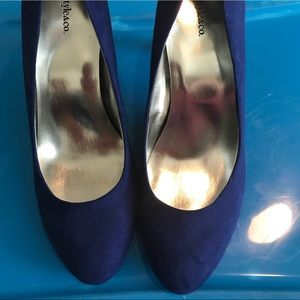 Style & Co Shoes - Style & Co Blue Heels